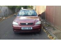 Vauxhall astra 1.6 for sale, MOT, drives good.