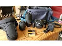 Nikon D3100 slr digital camera plus extras