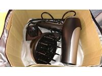 Remington Pro Hair Dryer with Carry Case & Attachments BRAND NEW