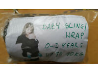 BABY SLINGI WRAP 0-3 YEARS , UP TO 10 KG