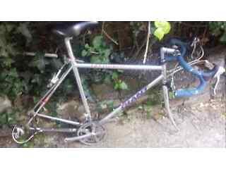 giant Pelton road bike frame project needs wheels £40