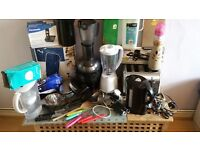 Selection of small kitchen appliances as new and other items a steal, quick sale needed - emigrating