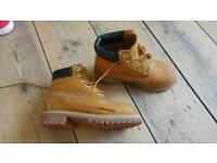 Kids timberland boots uk13