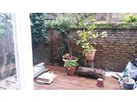 Garden flat. sunny self contained one bedroom garden flat Whitechapel