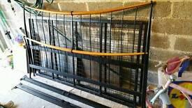 Superking metal bed frame
