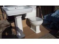 Ceramic Toilet / Cistern & Basin - NEW