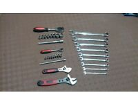 AF/Imperial Fitters Tool Kit Including Spanners and Sockets