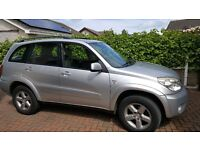 2004 - RAV 4 XT3 VVTI Automatic with towbar and elect sun roof. No accidents.