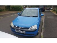 Vauxhall Corsa 2001. Immaculate condition, FSH, 11 months MOT.