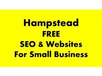 Free Website and SEO Help for Small Business in Hampstead/Swiss Cottage