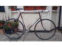 Vintage Italian Racer/Road Bike Columbus Steel Frame
