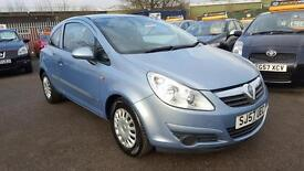 VAUXHALL CORSA 1.0 LIFE 2008 / 34K MILES / 1 OWNER FROM NEW / HPI CLEAR / 2 KEYS