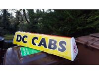 TAXI SIGN £25