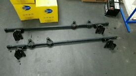 TOYOTA PRIUS ROOF BARS WITH ALL FITTING AND FIXTURES ( SUMMIT ) £25