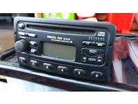 Ford Focus CD Player Head Unit 6000 RDS Radio