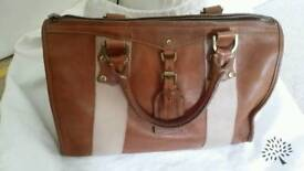 AUTHENTIC MULBERRY EUSTON BAG IN OAK LEATHER with DUSTBAG