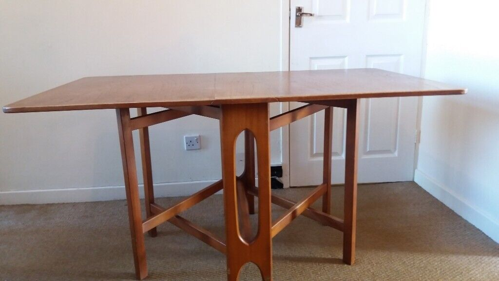 Antique Solid Wood Drop Leaf Table In Longlevens Gloucestershire Gumtree