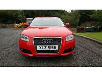 Audi A3 1.9 TDIe SE 2009 Full MOT £30 Tax per year.