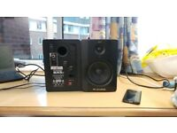 M-AUDIO BX5 D2 Bi-Amplified Studio Monitor Speaker Pair