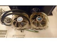 Intel/AMD CPU Hydro Cooler - Zalman Reserator 3 Max Dual AIO Liquid CPU Cooler