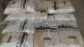 Red Sand, Washed Sand or Sand & Gravel Mixed 25kg Bags