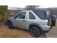 Land Rover Freelander 1 (Facelift). Lower than average miles. AT tyres. Good, reliable motor.