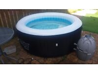Hot tub layzspa