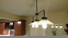 kitchen dining area diner bar ceiling light