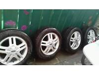 Ford Focus Alloys and tyres
