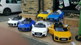 Audi R8 Compact Or Audi TTRS, Limited Stock, Parental Remote & Self Drive £120