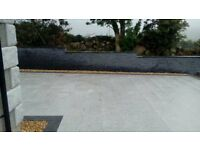 SILVER GREY NATURAL GRANITE PAVING SLABS (SOLID STONE) **GRADE A**