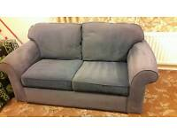 Sofabed - blue - sofa bed