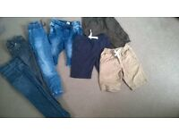 boys shorts and jeans bundle age 5-6
