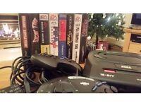 Sega Megadrive II plus games
