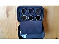 Set of ND filters for DJI Phantom 3 - as pictured ND4, ND8, ND16, GND ND4, GND ND2, GND ND8