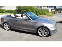 BMW Series 1 2.0 118D M Sport Convertible, manual, 1 previous owner, low mileage, service history..