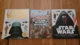 Star Wars books x 3