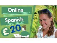 Qualified Spanish Teacher /MFL Teacher. Online Spanish Lessons.