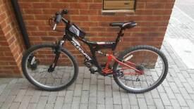 Muddy fix mounting bike