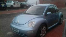 cheap 1.6 vw beetle 2004 low miles for year