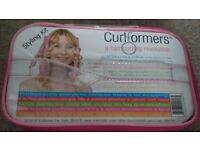 Curlformers curling spirals