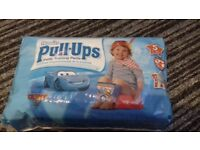 ggies Cars Pullups Size 5, 6 & large