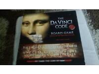 DAVINCI CODE BOARD GAME.