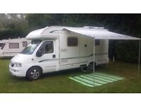 bessaccarr E450 2.3 jtd 143 bhp engine/chassis upgrade