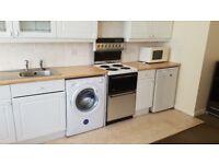 Large furnished one-bedroom maisonette flat