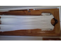 Vintage Jessica McLintock Ivory Wedding Dress