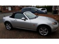 Mazda MX5 convertible - very low miles - gorgeous