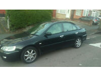 Honda Accord 2001 Black Automatic 4dr Saloon 2.3i Type V **LPG Fitted**