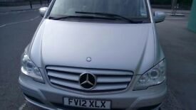 Urgent Sale of 7 pax Mercedes Viano with PCO ready
