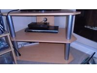 Wooden effect TV stand £5